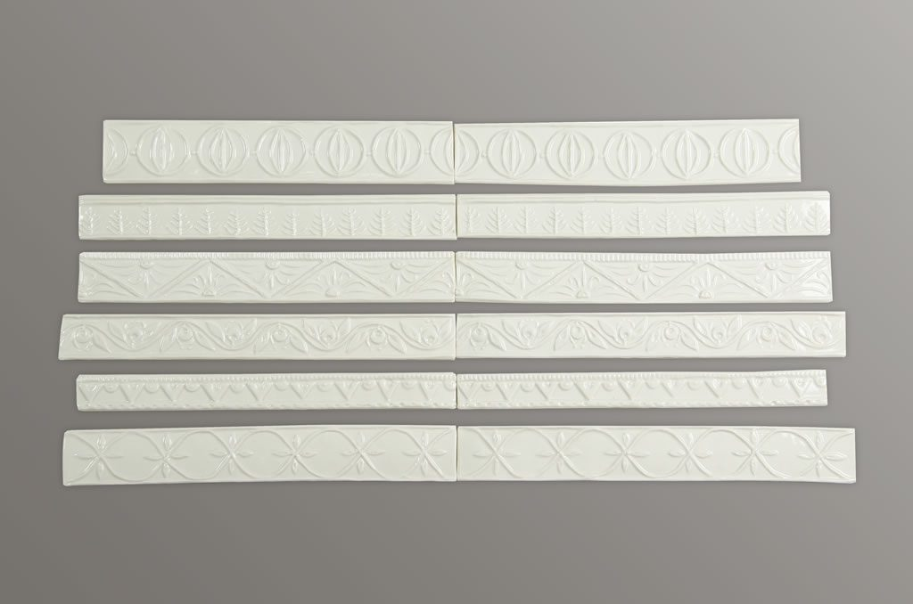 Border tiles £2.80 per 8.5cm length. Longer sections may be made on request.